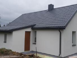 Statybų darbai: fasadu siltinimas, stogu dengimas