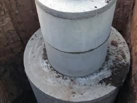 Šulinio ir kanalizacijos žiedai