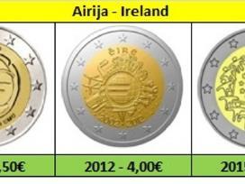 Airija 2 euro monetos Unc - nuotraukos Nr. 6