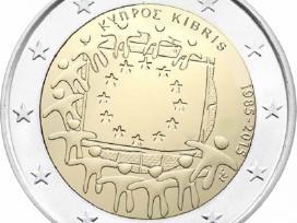 Kipras 2 euro monetos Unc - nuotraukos Nr. 3