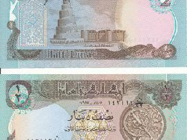 Irakas 1/2 Dinaro 1985m. P68a Unc