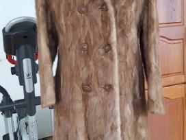 Elegantiški audinės moteriški kailiniai 240eur