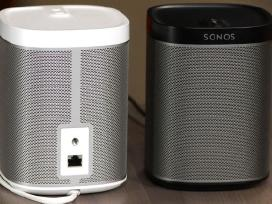 Sonos Play 1, 3, 5, Connect bevieles koloneles