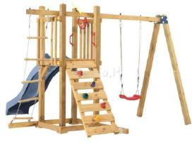 Vaikų žaidimo aikštelės (žaidimų) - nuotraukos Nr. 4