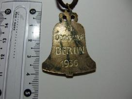 1936 Berlyno olimpiados ženklas - nuotraukos Nr. 2