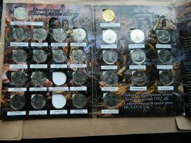 1812 m.tevynes karo 200m. monetu rinkinys - nuotraukos Nr. 2