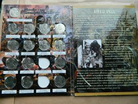1812 m.tevynes karo 200m. monetu rinkinys - nuotraukos Nr. 3