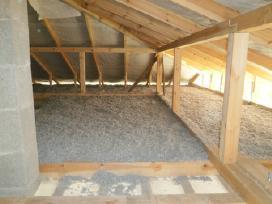 Sienų, Perdangų, stogų šiltinimas Ekovata - nuotraukos Nr. 6