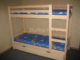 2 aukštų lovos