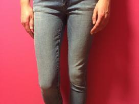 Nauji šviesūs skinny fit džinsai