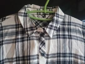Nauji kreminiai languoti patogūs marškinukai - nuotraukos Nr. 2