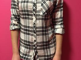 Nauji kreminiai languoti patogūs marškinukai