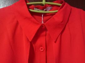 Nauja ryškiai raudona paladinė ilgesniais kraštais - nuotraukos Nr. 5