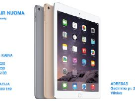 Apple iPad Air, iPad Pro Nuoma