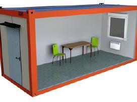 Mobilių sandėlių / konteinerių nuoma