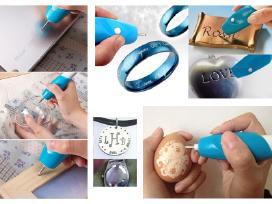 Graviravimo įrankis Velykiniams kiaušiniams