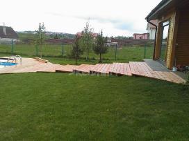Aplinkos tvarkymas, drenažas, lietaus nutekejimas - nuotraukos Nr. 3