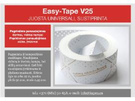 "Glaistymo juostos ""easy-tape"". Drywall Tapes."