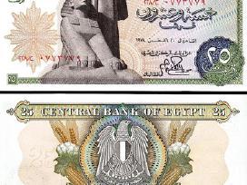 Egiptas 25 Piastres 1978m. P47 Unc
