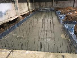 Pamatai, betonavimo darbai