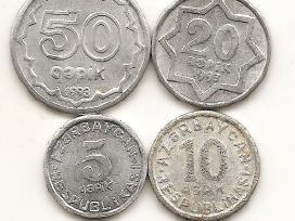 Azerbaidzano monetu rinkinukas
