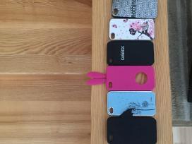 iPhone 4 16gb juodas. + 8 dėkliukai
