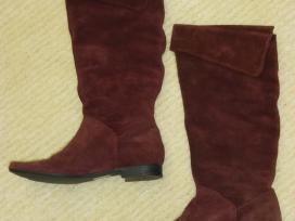 Clarks zomšiniai auliniai batai, dydis 37