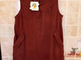 Nauja plati suknele-sarafanas 2vnt