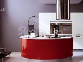 Itališki Modrenūs virtuvės Baldai - nuotraukos Nr. 3