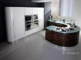 Itališki Modrenūs virtuvės Baldai - nuotraukos Nr. 4