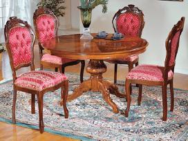 Itališki Klasikiniai Stalai Ir Kėdės