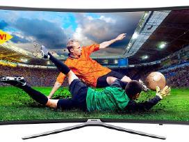 Samsung televizorius smart naujas + garso sistema