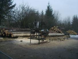 Kokybiskai mobiliu gateriu pjaunu mediena