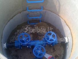 Vandentiekis nuotekų šalinimas valymo įrenginiai
