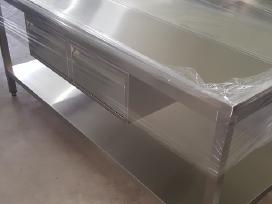 Nerūdijančio Plieno Stalai pagal poreikius - nuotraukos Nr. 7