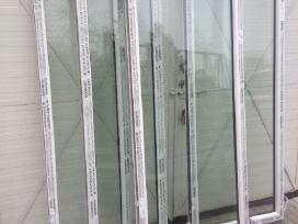 Lauko Durys Naujos nuo 100e.dvigubos+langai