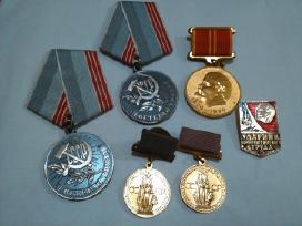 Įvairūs medaliai / ženkliukai