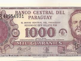 Paragvajus 1000 guaranies 2002 P221
