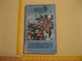 Knyga Sodininko Žinynas 1988 m. .zr. foto.
