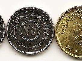Egypto monetu rinkinukas