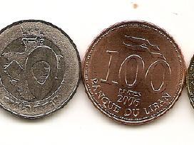 Libano monetu rinkinukas