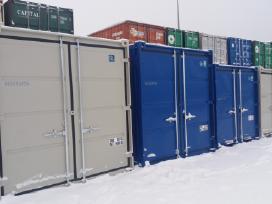 Nauji konteineriai 10 ir 8 pėdų (3 ir 2.5m)