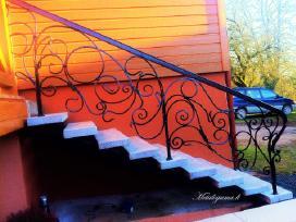 Laiptų turėklai, balkonai