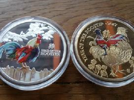 Šiu metu monetos kaina po 10 euru.