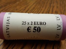 2 Eurų Latvijos moneta, Karvė