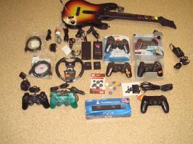 Sony Playstation Priedai, dalys.
