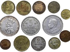 Ieškau Lietuviškų monetų