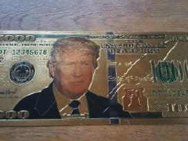 Parduodu auksinii 1000 doleriu kaina 15 euru.