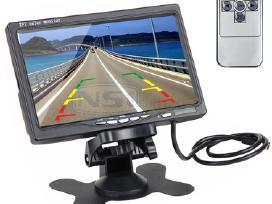 Galinio vaizdo kamera su 7 coliu LCD ekranu