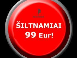 Šiltnamiai, Akcija 99 Eur!